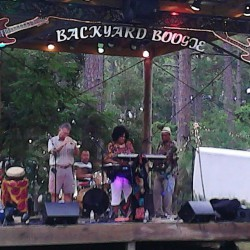 Jones and Company performing last year at Williams Backyard Boogie