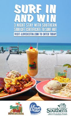 Win a three night stay in Destin with iLoveDestin's June Giveaway!