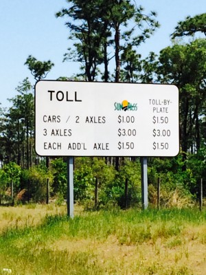 Florida Toll By Plate >> Major Highway Change For Destin Bound Travelers I Love Destin