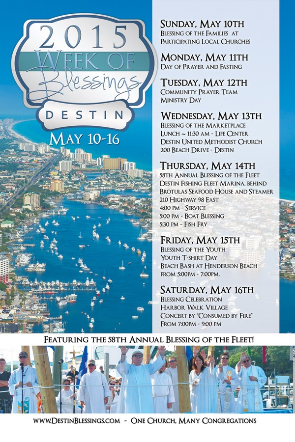 Destin Week of Blessings