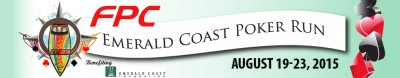 Emerald Coast Poker Run 2015 banner ad