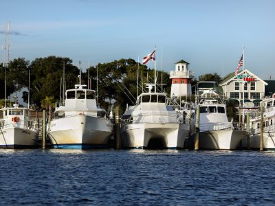 Blessing of the Fleet on Destin Harbor