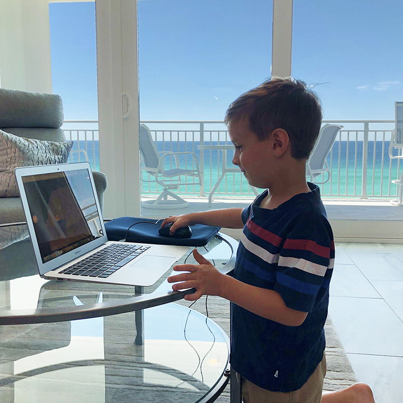 Working and Learning Remotely in Destin
