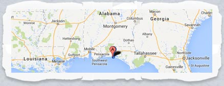 Use our area map to plan your next Destin FL trip or vacation