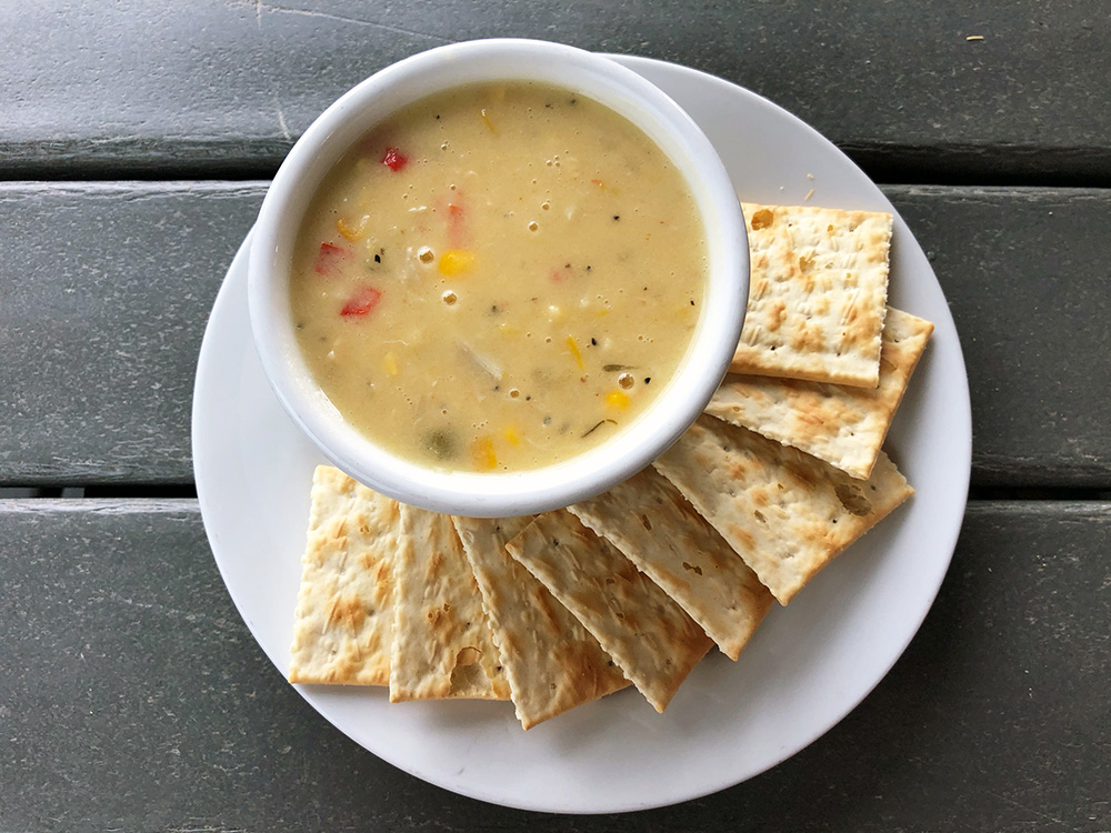 The Best Corn and Crab Bisque in Destin